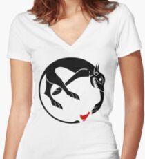 Sandor Clegane Personal Sigil Tee V2 Women's Fitted V-Neck T-Shirt