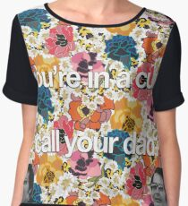 You In A Cult Chiffon Top