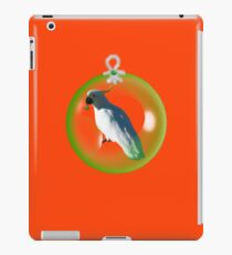 Aussi  X-mas  Cockatoo Card ( Red ) stock up! get ready for christmas ! iPad Case/Skin
