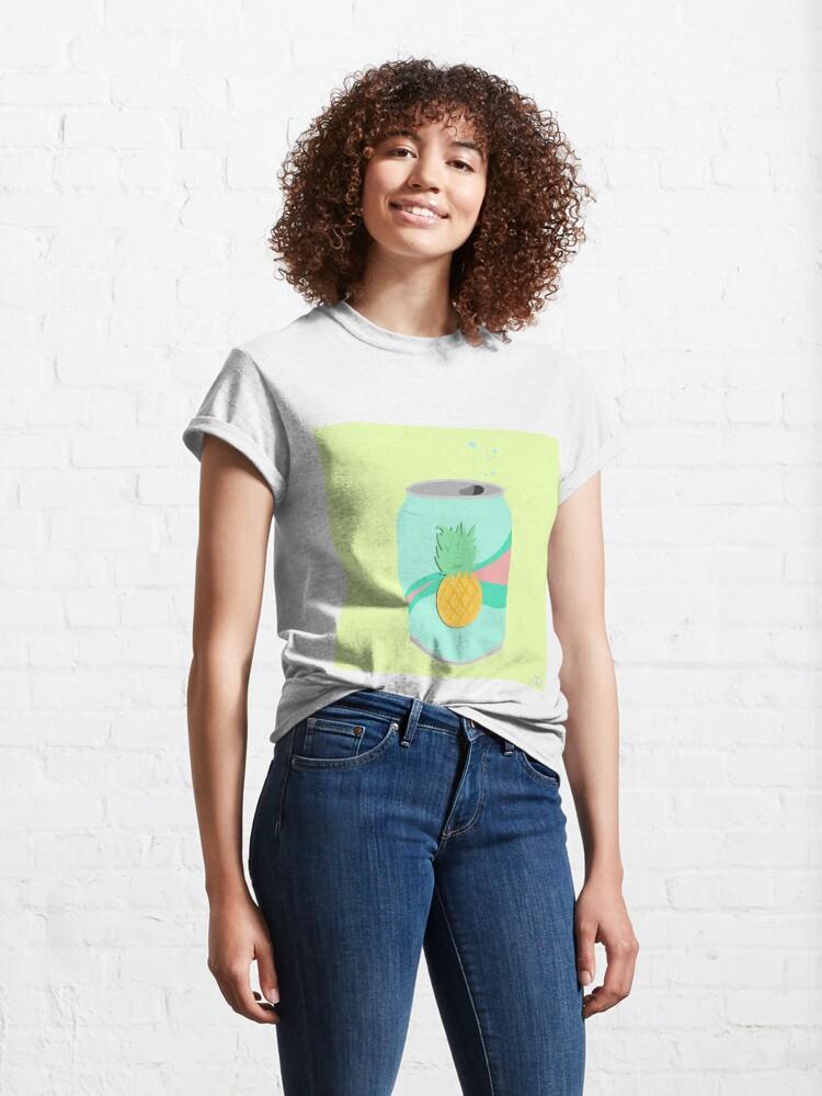 Alternate view of pineapple soda Classic T-Shirt