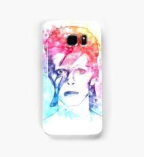 Bowie painting Samsung Galaxy Case/Skin