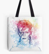 Bowie painting Tote Bag