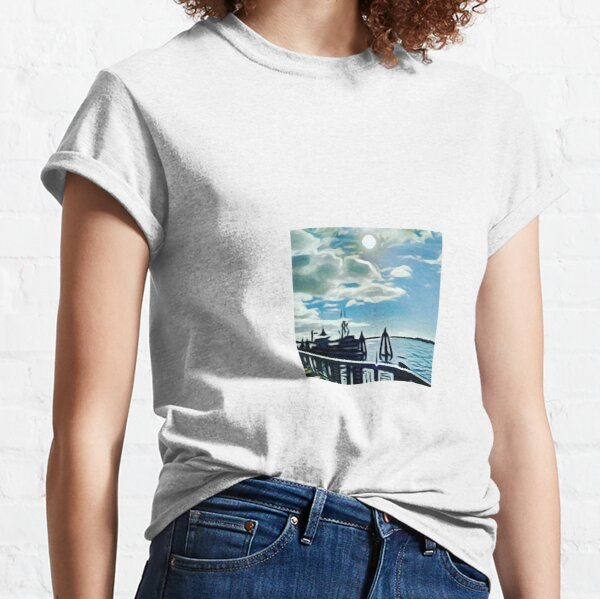 Day at the coast Classic T-Shirt