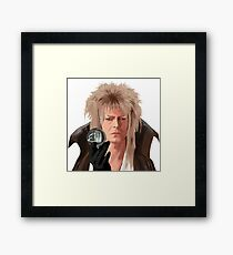 """""""Goblin King"""" Framed Print"""