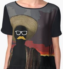 Bandito Sunset Women's Chiffon Top