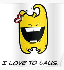 I LOVE TO LAUGH Poster