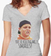Killing Me Smalls II Women's Fitted V-Neck T-Shirt
