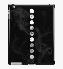 Wings Logos (Black) iPad Case/Skin