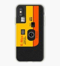 Vinilo o funda para iPhone Cámara desechable - Naranja