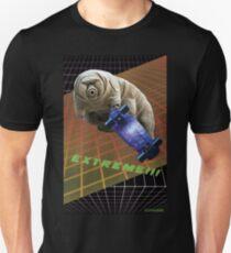 Tardigrade EXTREME 80er Space Skateboard Slim Fit T-Shirt