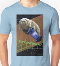 Tardigrade EXTREME 80's Space Skateboard Unisex T-Shirt