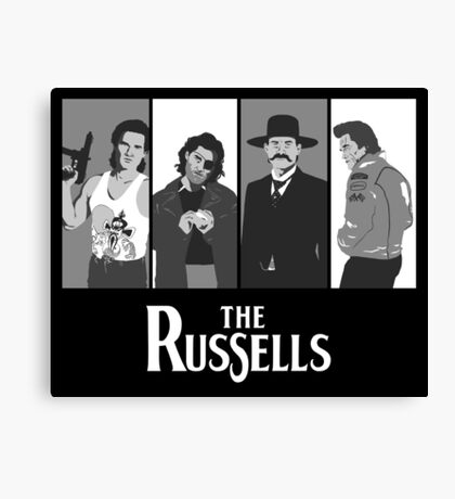 The Russells Canvas Print
