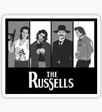 The Russells Sticker