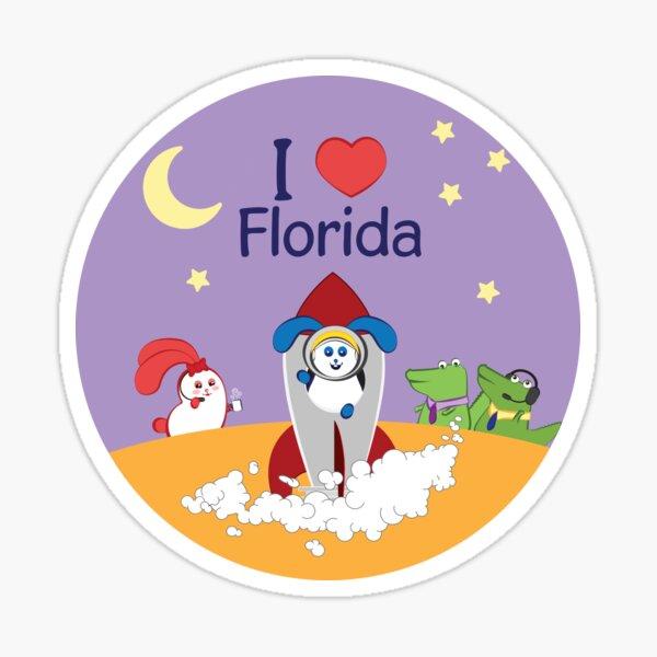 Ernest and Coraline | I love Florida Sticker