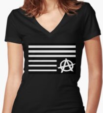 A$AP Flag Women's Fitted V-Neck T-Shirt