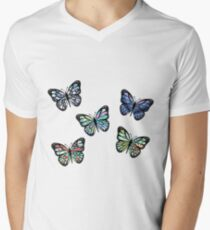 Cute Patterned, Flying Butterflies Pack of 5 T-Shirt