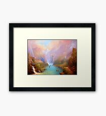 The River Great. Framed Print