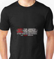 warhammer Unisex T-Shirt