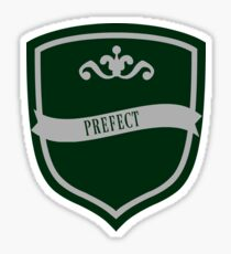 Green and Silver Badge 3 Sticker