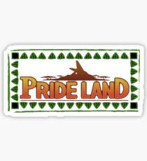 Pride Lands Sticker