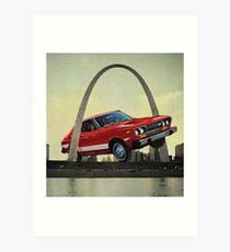 Meet Me in St. Louis Art Print
