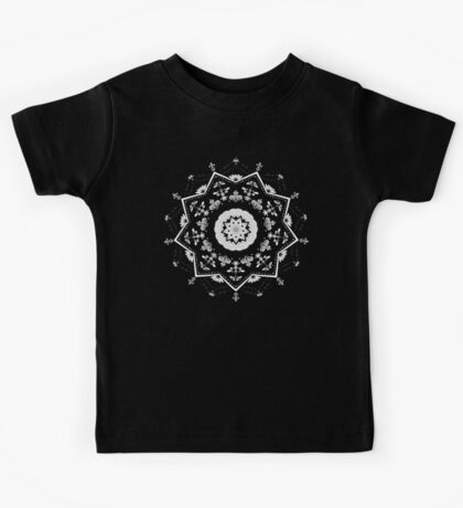 Star Mandala Green Kids Clothes