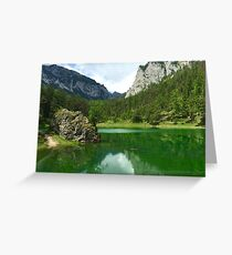 Green Lake 3 in Austria Greeting Card