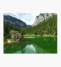 Green Lake 3 in Austria Photographic Print