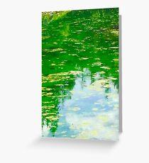 Lake with Algae Greeting Card