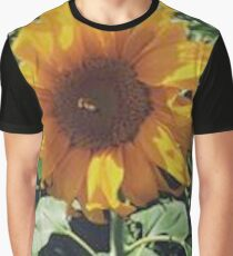 Sunflower in a Field. Graphic T-Shirt