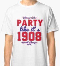 Chicago Cubs World Series Design Classic T-Shirt