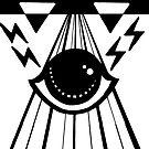 dark psychic attack by HiddenStash