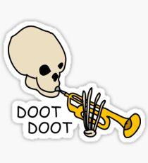 DOOT DOOT Sticker