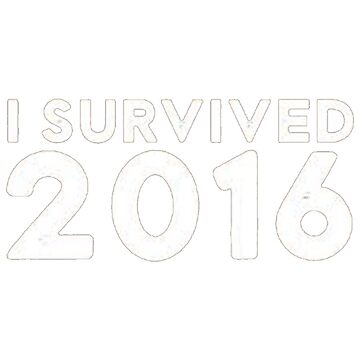 I Survived 2016 (Small Version) by Judgino