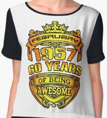 awesome 60 years Chiffon Top