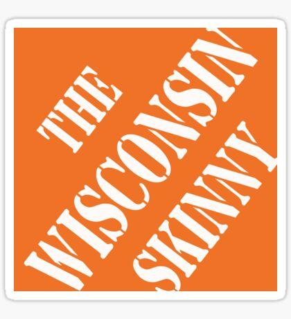 Wisconsin Skinny Fixin' Stuff Sticker