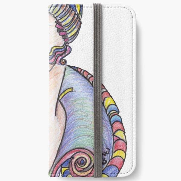 Lola Art Deco Lady iPhone Wallet