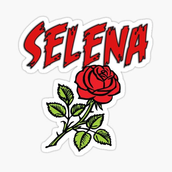 Selena flor Sticker