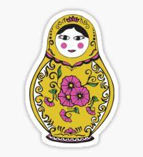 Babushka Sticker