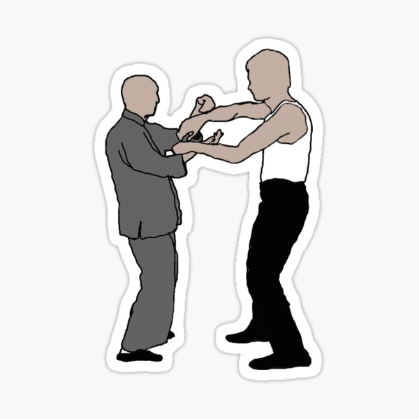 Wing Chun Legends II Sticker