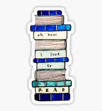 I Love to Read Sticker