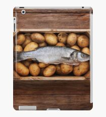 Raw Fish & Chips iPad Case/Skin