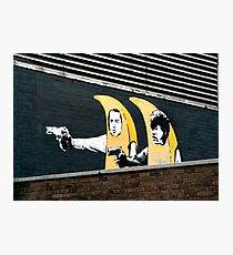 Banana Pulp Fiction  Photographic Print