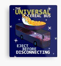 Universal Cereal Bus Metal Print