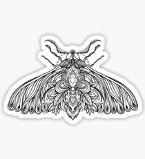 Night Moth Sticker