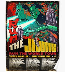 Run The Jewels World Tour Dates 2017 Poster
