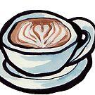 latte heart by HiddenStash