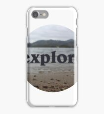 beach explore iPhone Case/Skin
