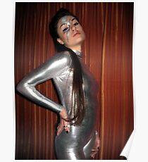 Sasha Grey as David Bowie Poster