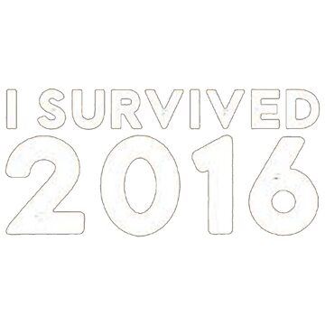 I Survived 2016 (Large Version) by Judgino